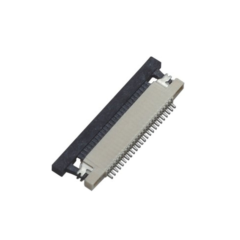 0.5mm FPC H=1.2mm Right Angle SMT Up Contact Type