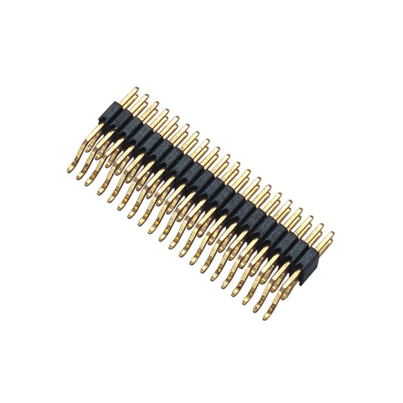 1.27mm Pin Header H=2.5mm Dual Row Right Angle & SMT Type