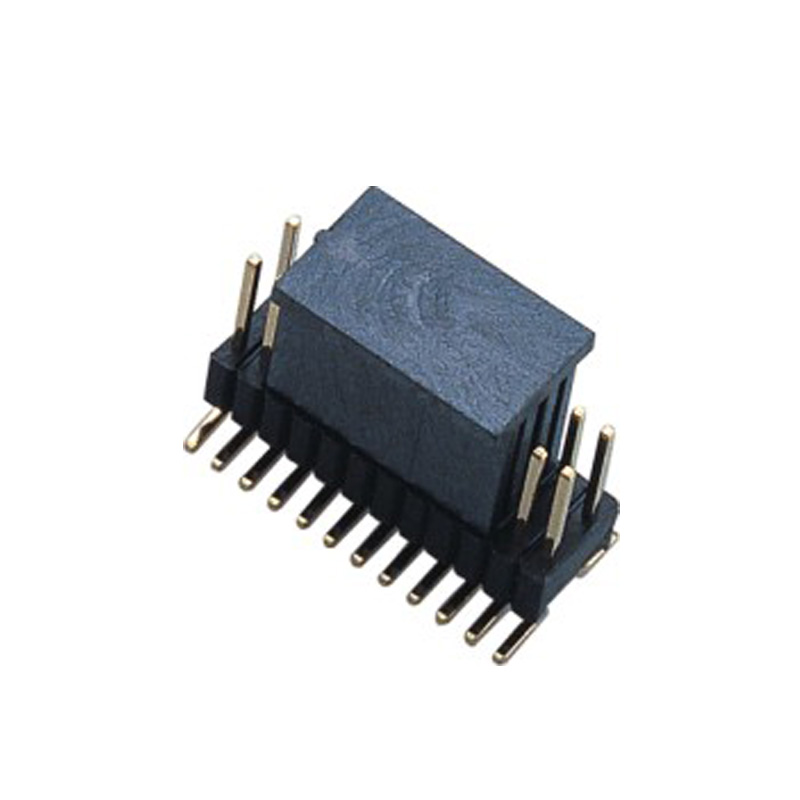 1.27*2.54mm Pin Header H=2.5 Double Row SMT Type