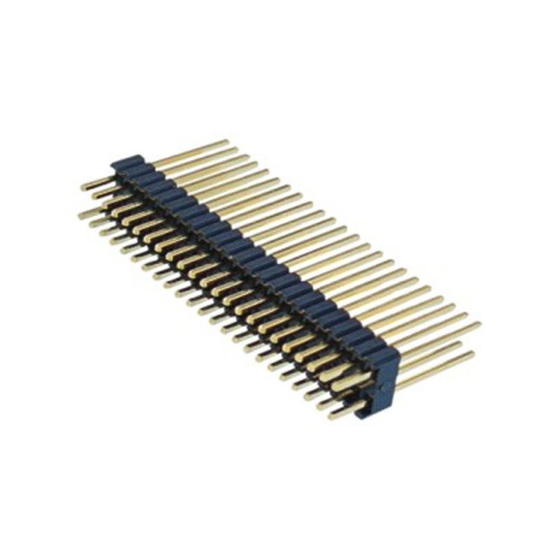 1.27*2.54mm Pin Header H=2.5 Double Row Straight Type
