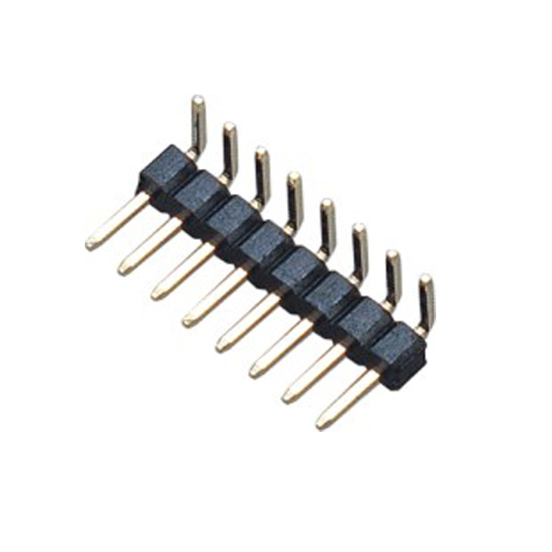 2.0mm Pin Header H=2.0 Single Row Right Angle Type