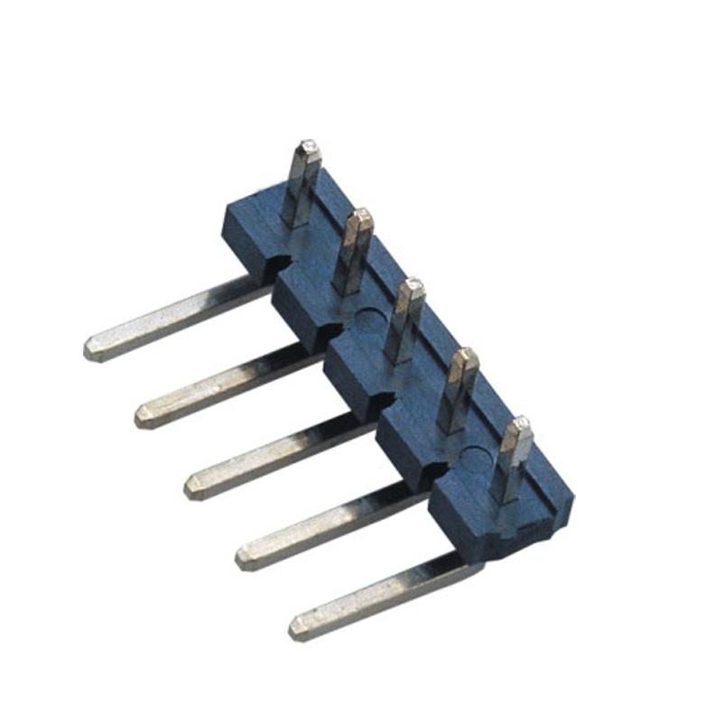 5.08mm Pin Header H=2.5 Single Row  Right Angle Type