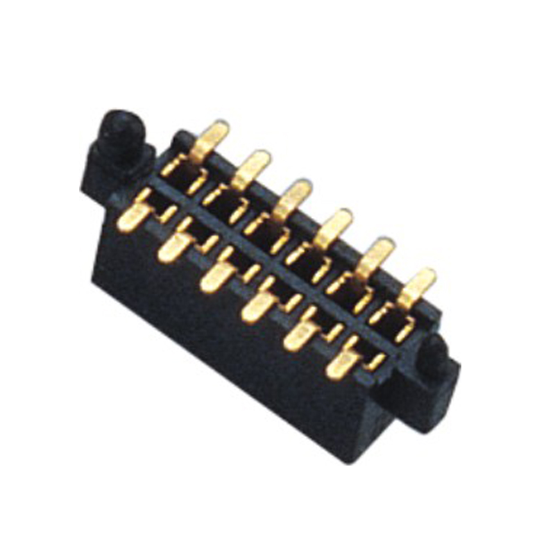 1.27mm Female Header H=3.4 Doulbe Row SMT Type