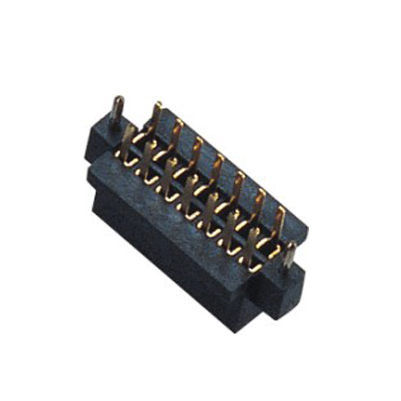 1.27mm Female Header H=4.4 Double Row Straight Type