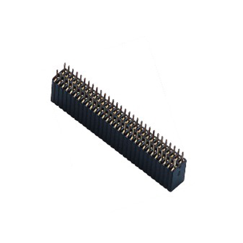 1.27*2.54mm Female Header H=8.5 Double Row Straight Type