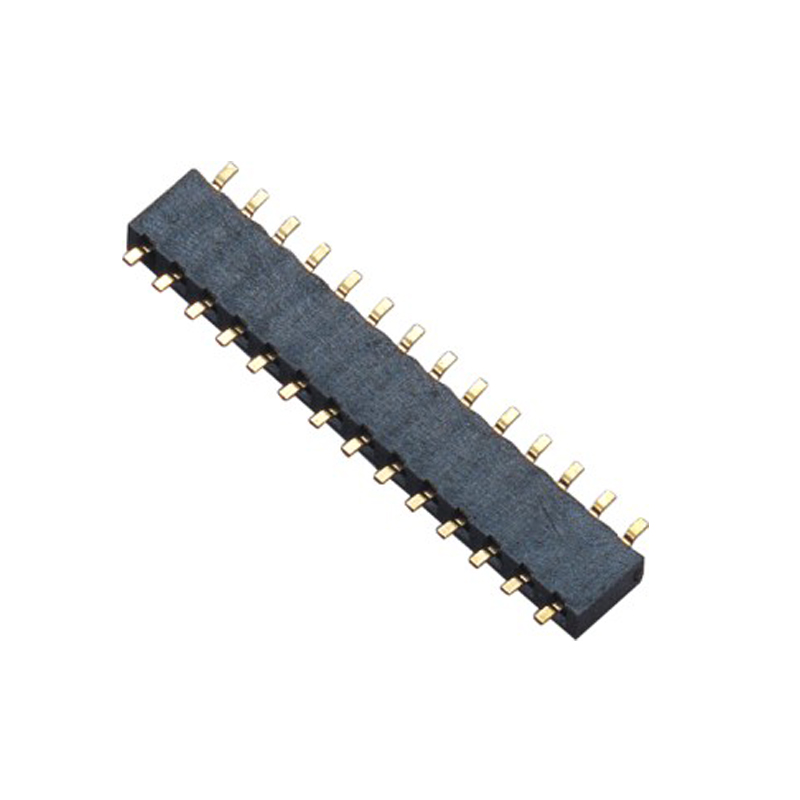 2.0mm Female Header H=2.0 Single Row SMT Type