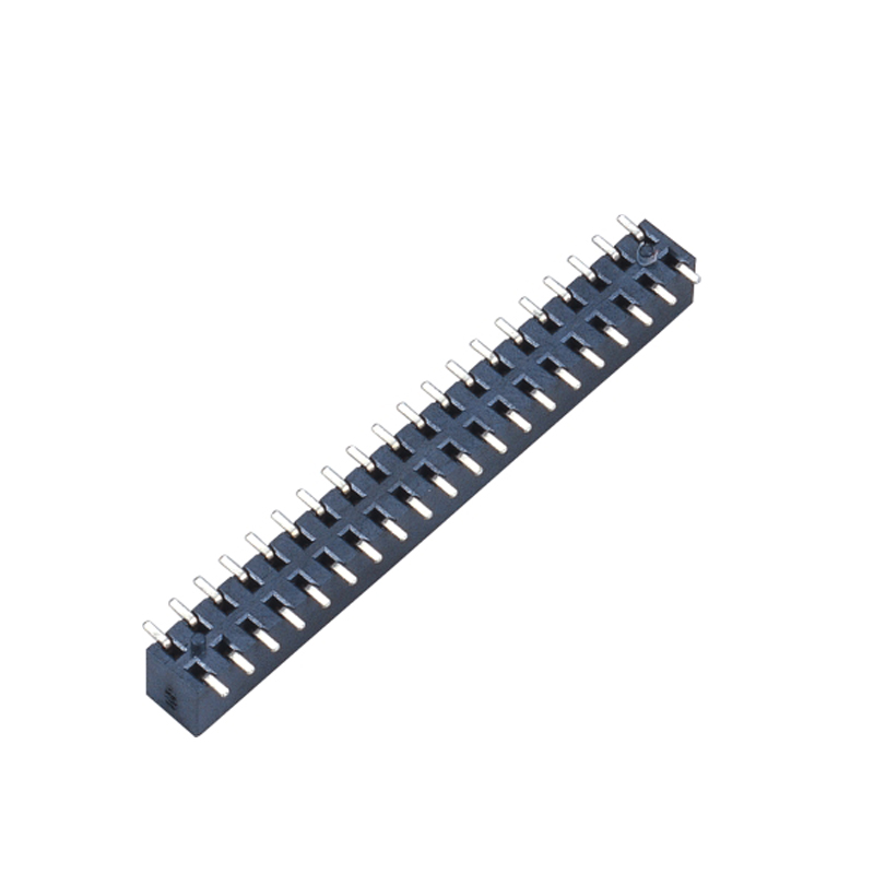 2.00mm Female Header H=4.5  Double Row SMT Type Top Entry Type