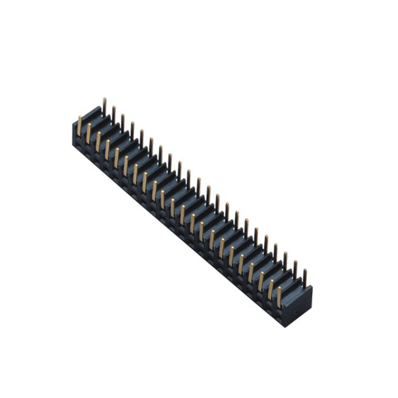 2.0mm Female Header H=4.9 Double Row Right Angle Type
