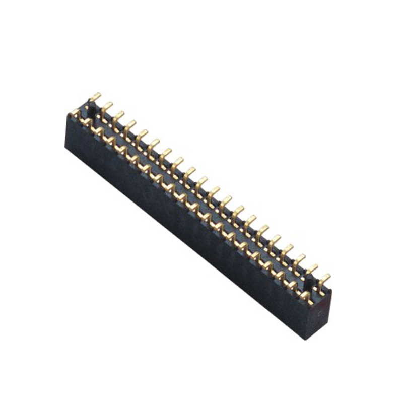 2.0mm Female Header H=6.3  Double Row SMT Type