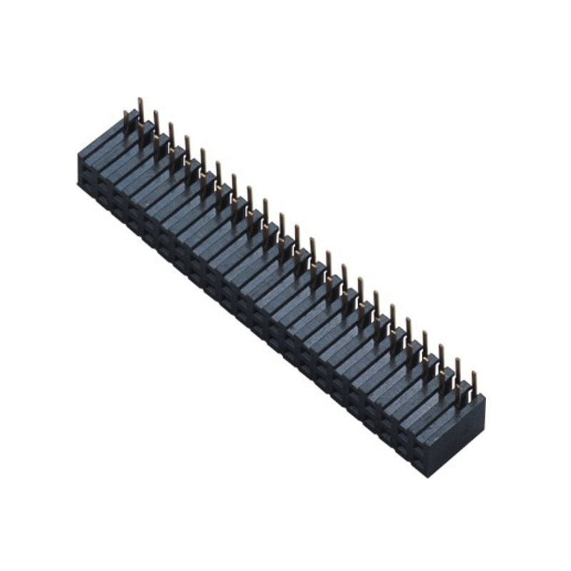 2.0mm Female Header H=7.2 Double Row Right Angle Type