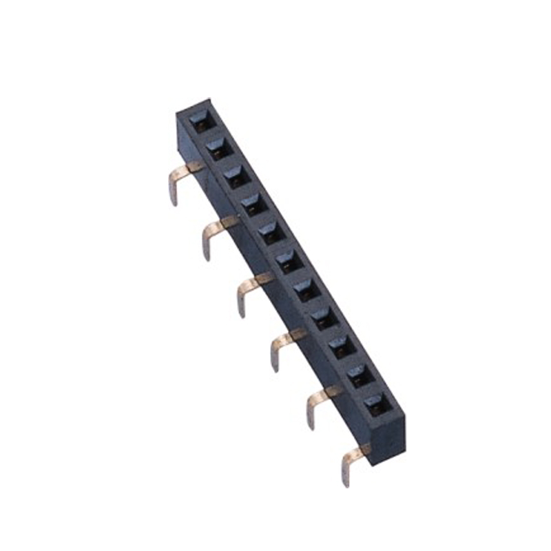 2.54mm Female Header H=5.0 Single Row  Centipede Foot Type