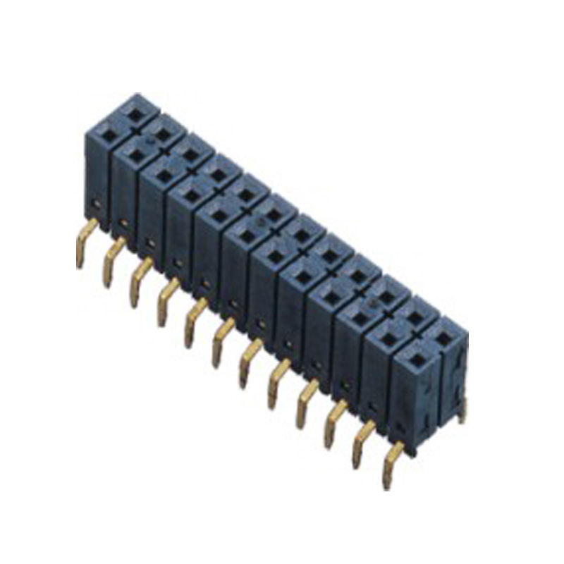 2.54mm  Female Header H=8.5 Double Row  Centipede Foot Type