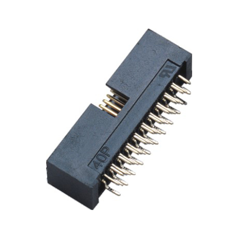 1.27*2.54mm Box Header H=10.5 Four Row Straight Type