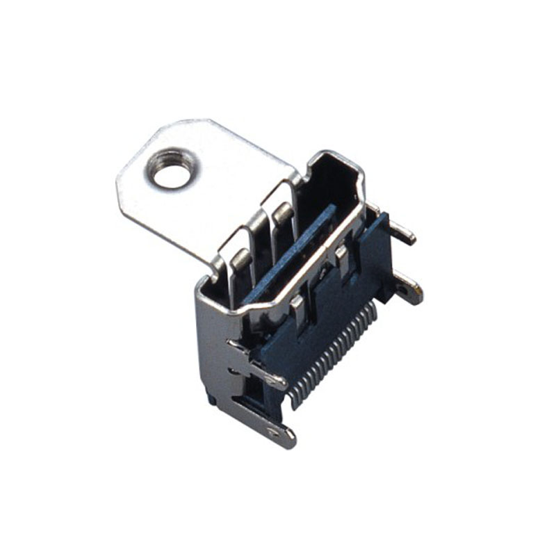 19Pin HDMI SMT Type With Post