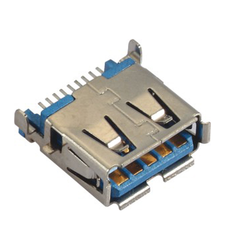USB 3.0 A Type Female Right Angle SMT
