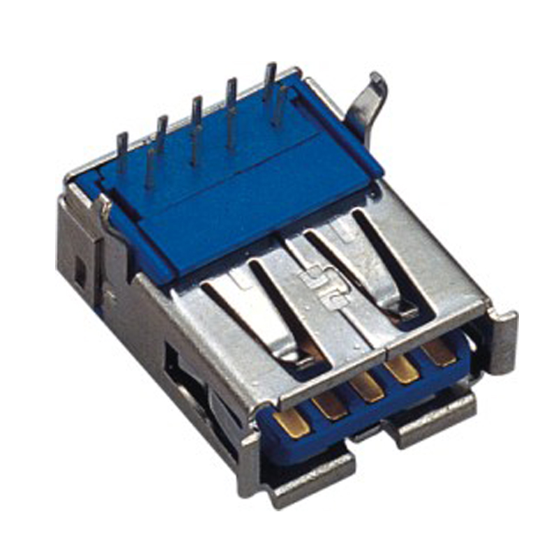 USB 3.0 A Type Female Right Angle DIP