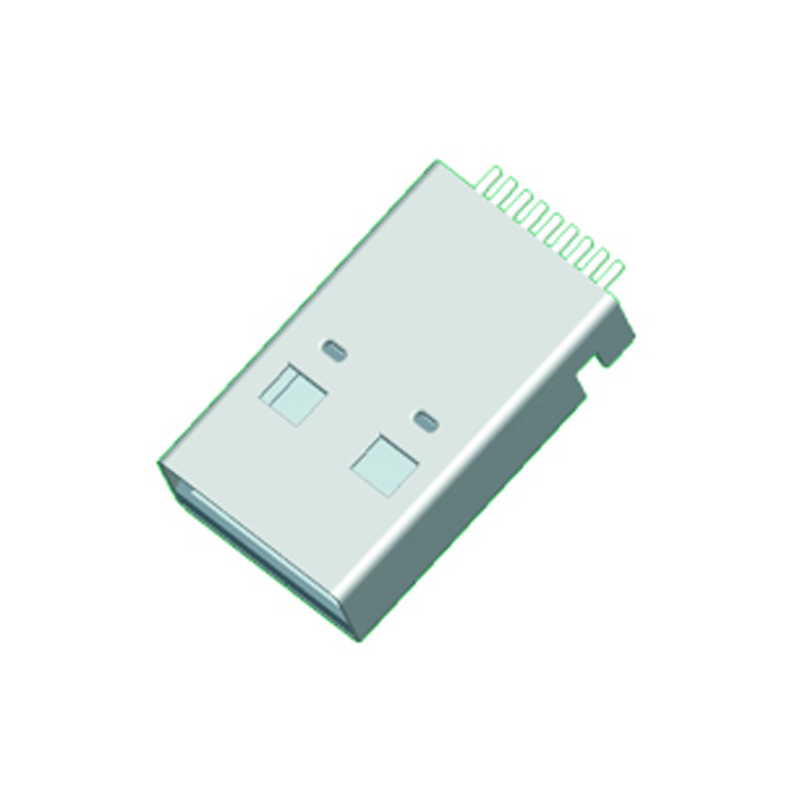 USB 3.0 A Type Male Right Angle SMT