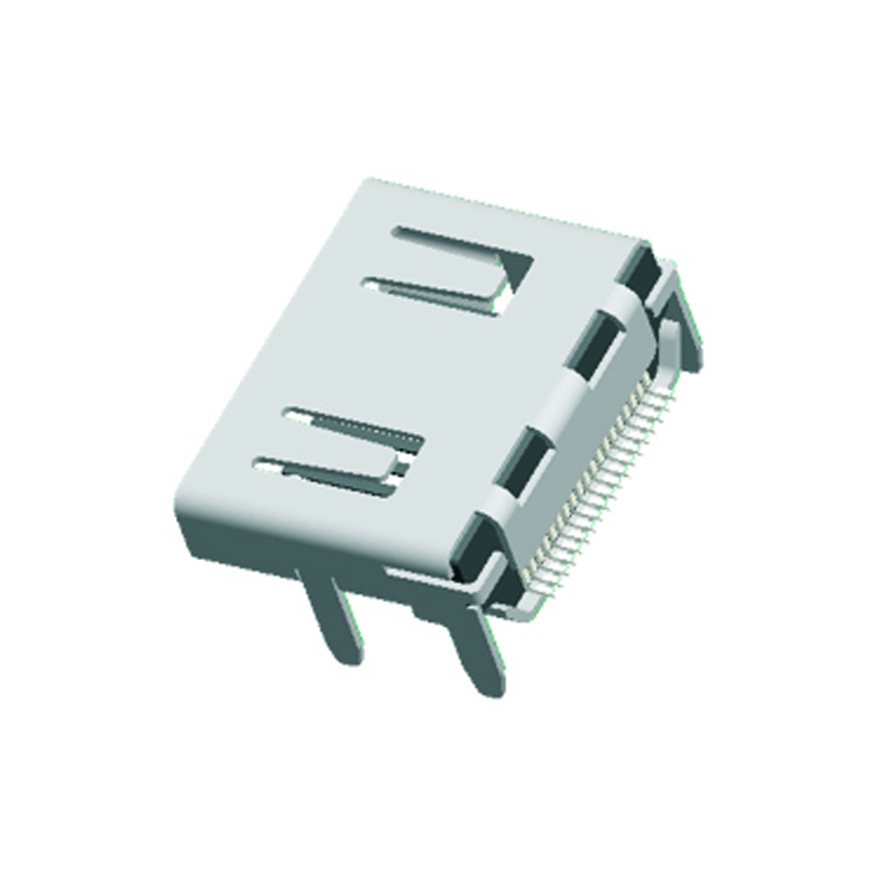 19Pin HDMI DIP Without Screw Eye With Post