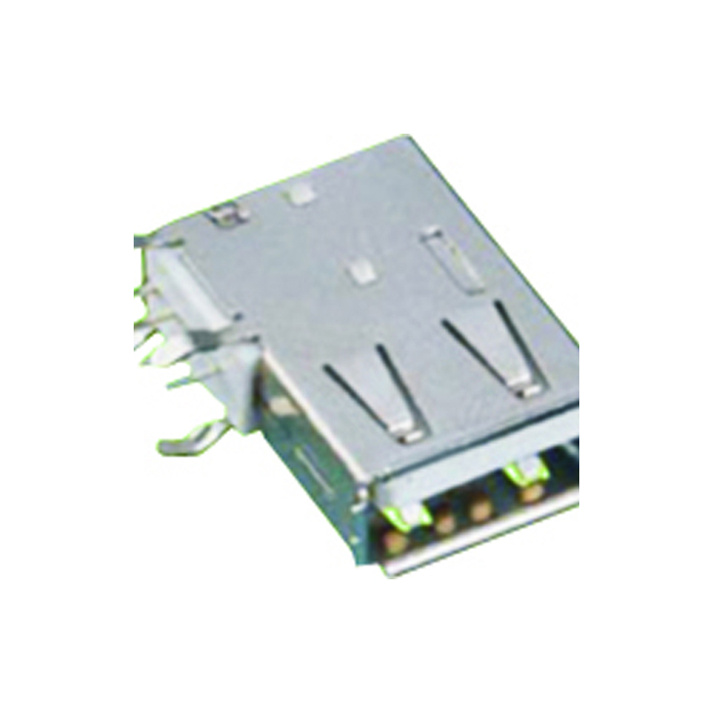 USB 2.0 A Type Female Right Angle DIP