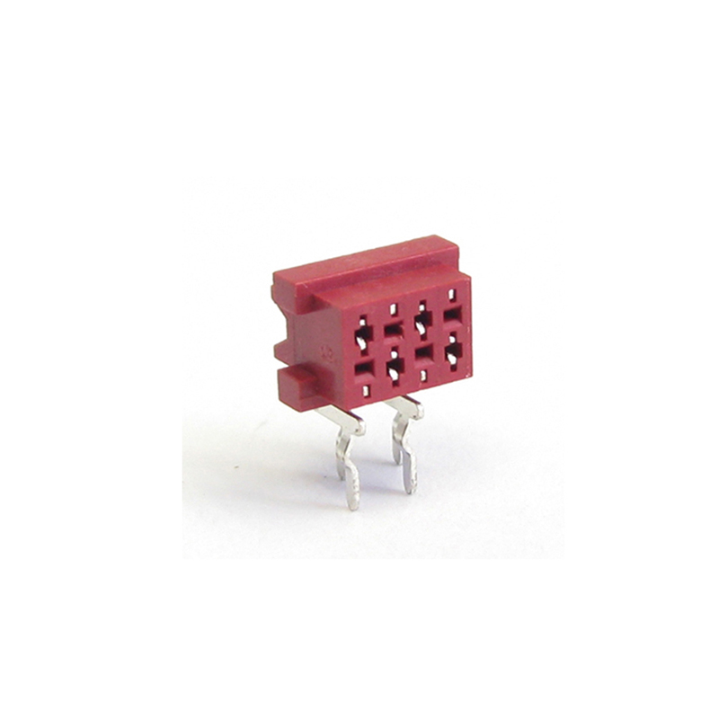 1.27mm Mini Match Female Right Angle Type with Latch