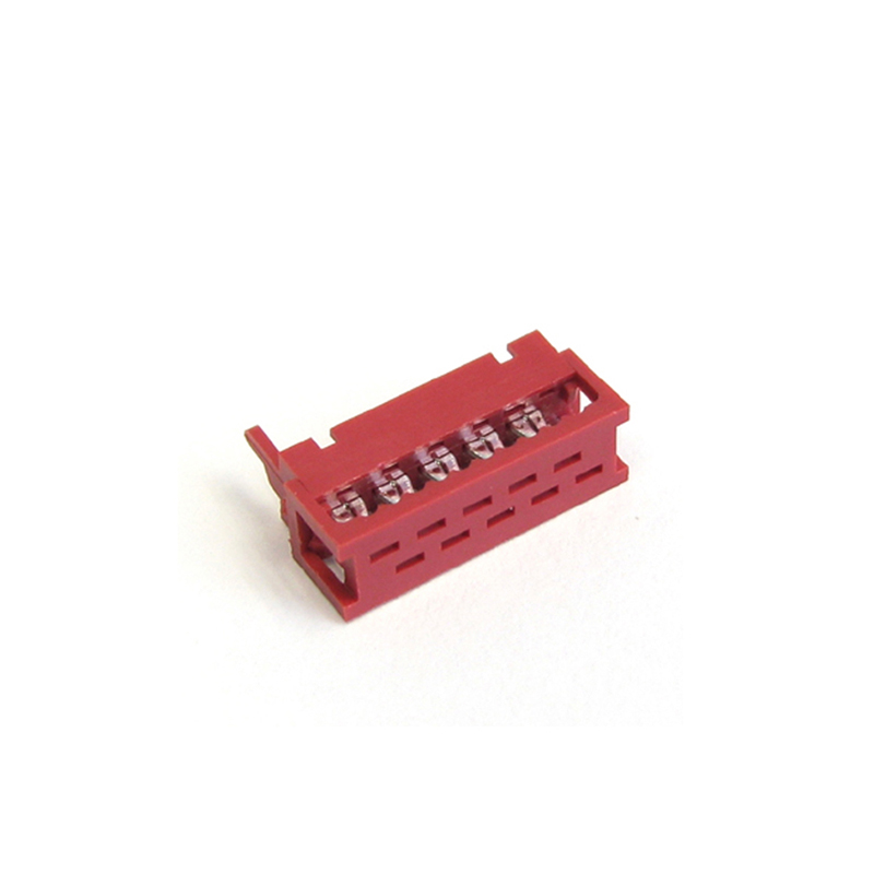 1.27mm Mini Match Male Box Plug IDC Type