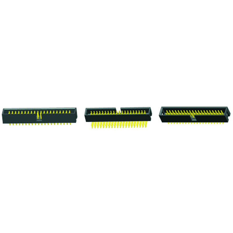 30 Contacts ZW Series 2.54 mm Board-To-Board Connector ZW-15-13-G-D-300-900 2 Rows, Through Hole Pack of 10 Header