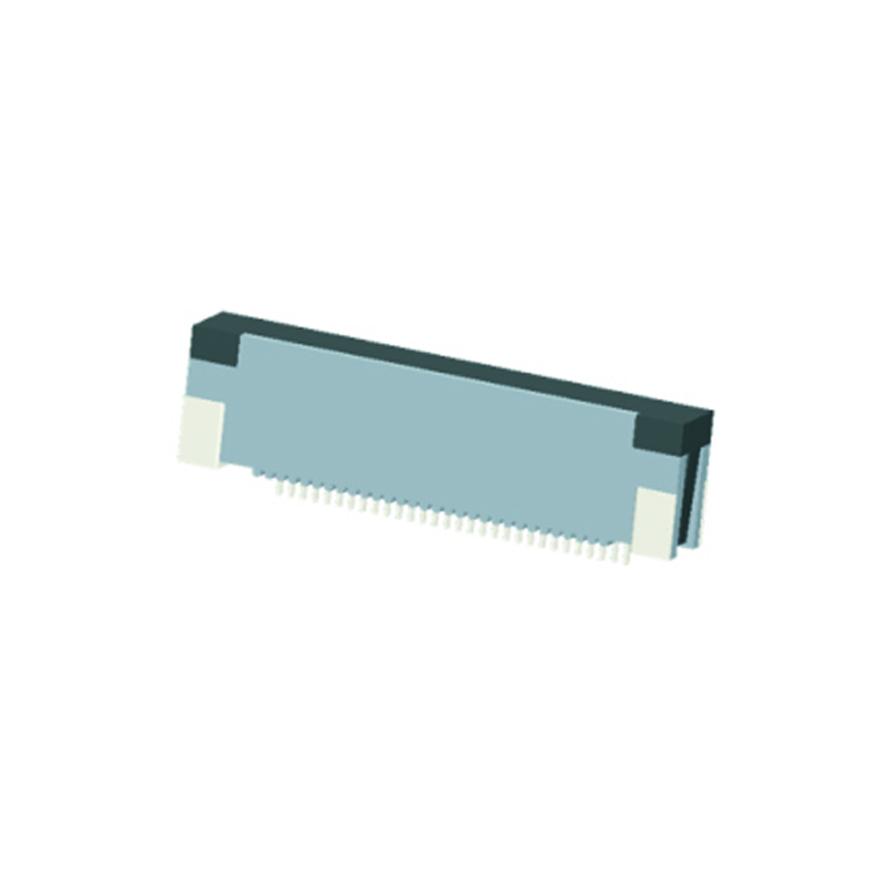 0.5mm FPC H=3.0mm Right Angle SMT Up Contact Type