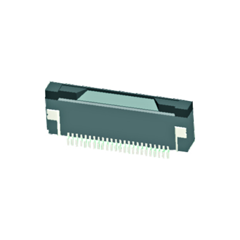 0.5mm FPC H=2.0mm Right Angle SMT Bottom Contact Type