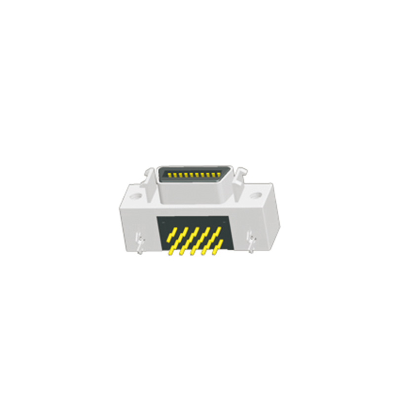 1.27mm SCSI Female Right Angle Type With Fixing