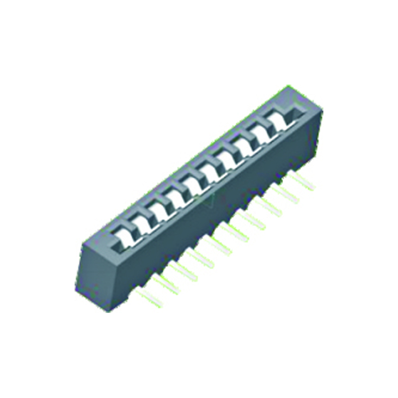 2.54mm FPC H=6.7mm Right Angle Double Contact Type
