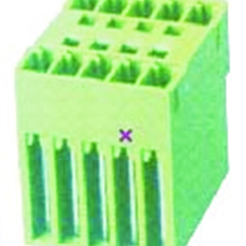 3.50mm Pluggable Terminal Blocks Male Dual Row Straight Type