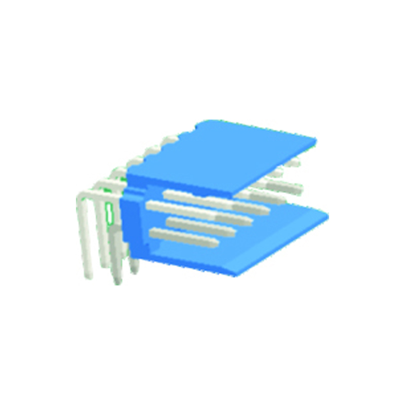 2.54mm Wafer Double Row Right Angle Type