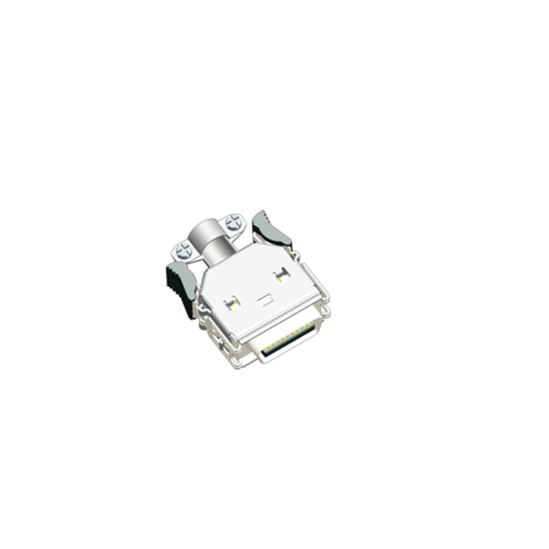 1.27mm SCSI Shell Male 3M Type