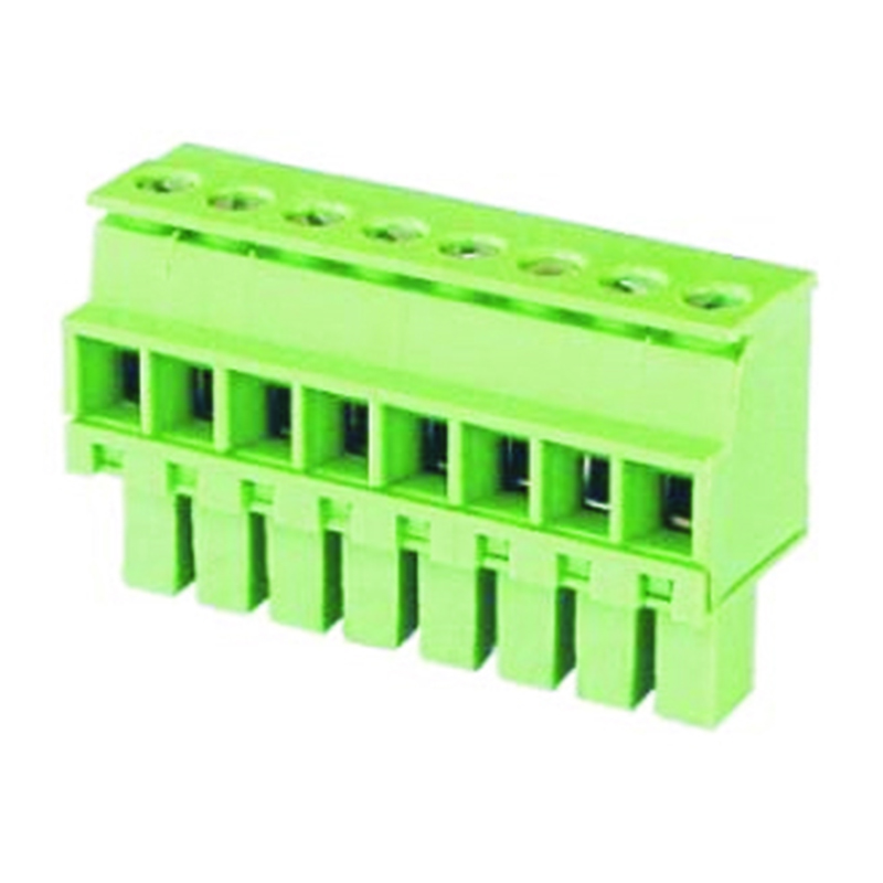 3.50mm Pluggable Terminal Blocks Female Horizontal Type Opposite Without Ear