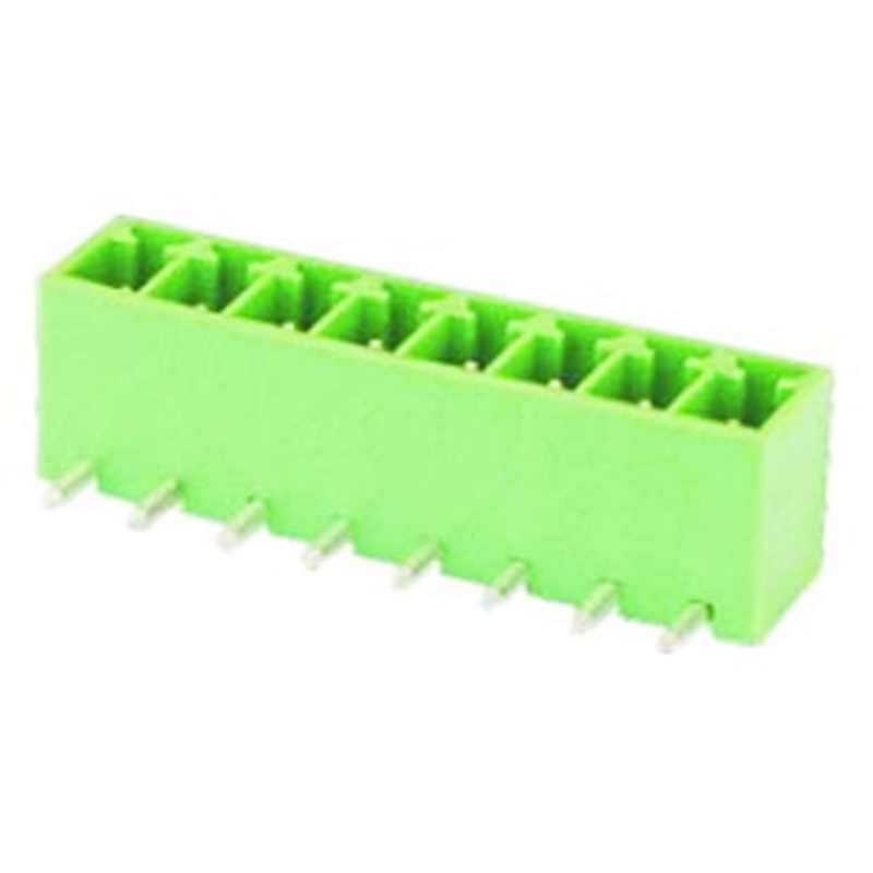 3.81mm Pluggable Terminal Blocks Male Right Angle Type Without Flange
