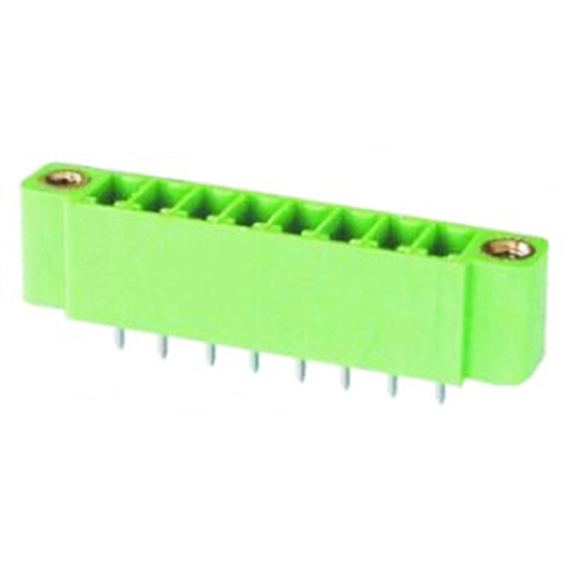 3.81mm Pluggable Terminal Blocks Male Straight Type With Flange