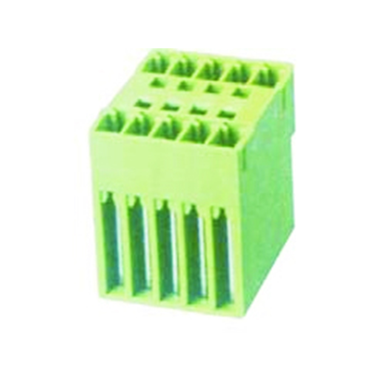 3.81mm Pluggable Terminal Blocks Male Dual Row Straight Type