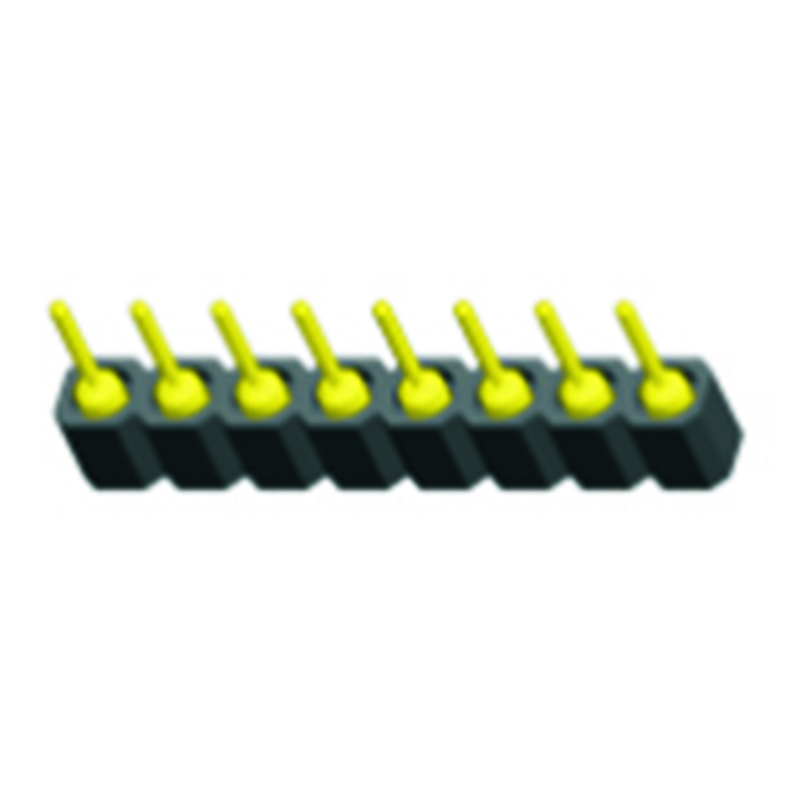2.54mm Machined Pin Header H=3.0 Single Row SMT Type