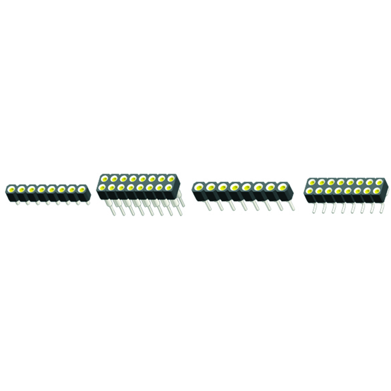 2.54mm Machined Female Header H=3.0 Single Row Stright Type