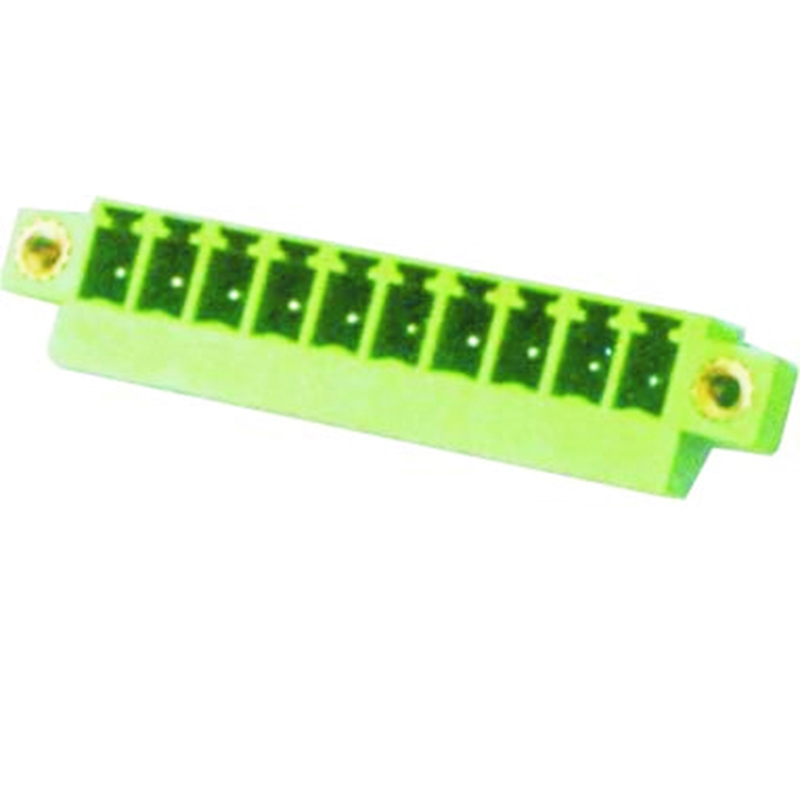 3.81mm Pluggable Terminal Blocks Male 45° Entry modular With Flanges