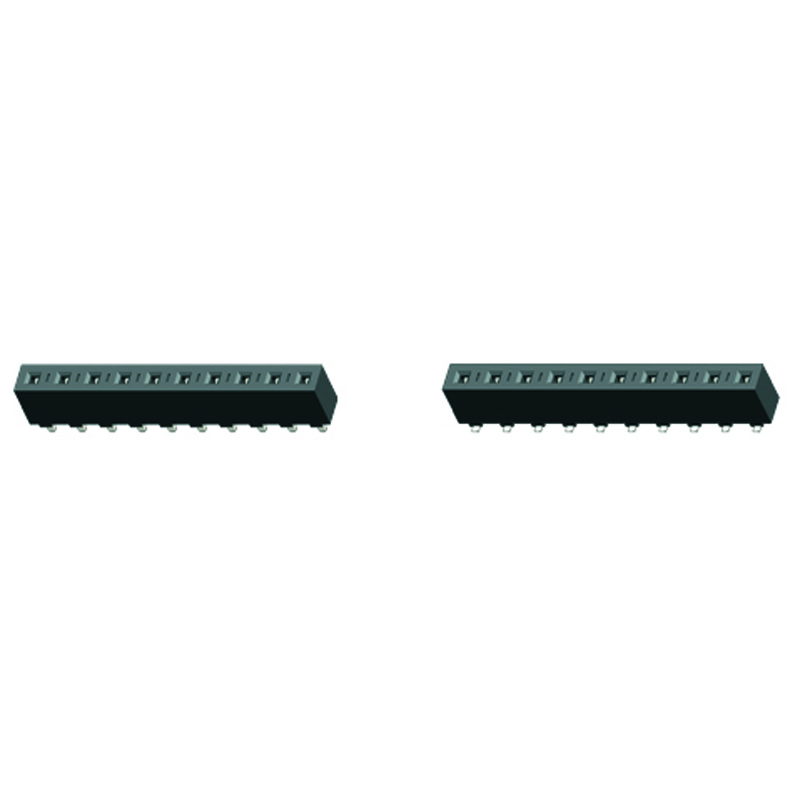 5.08mm Female Header H=8.9 Single Row Straight Type