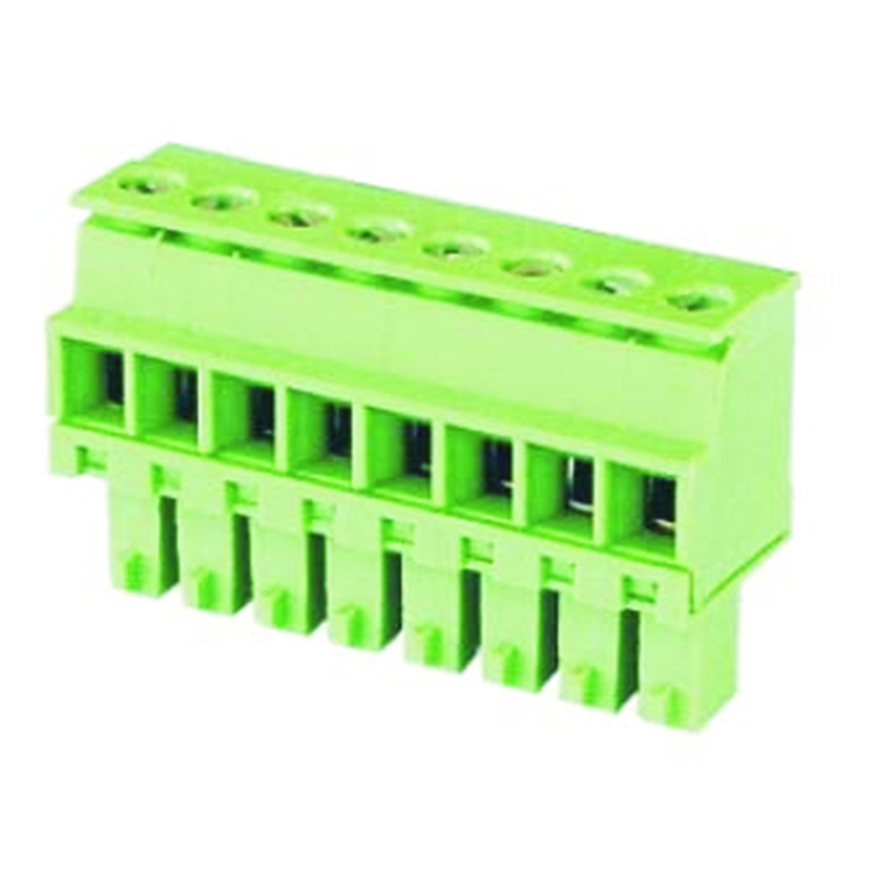 3.81mm Pluggable Terminal Blocks Female Horizontal Cable Entry
