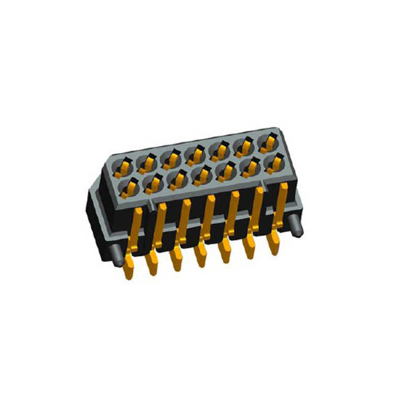 1.25mm Board to Board Female H=4.2 Right Angle SMT Type