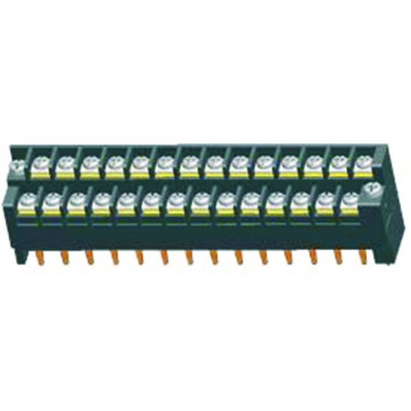 7.62*8.0mm Barrier Terminal Block H=32.8  With Lock Type