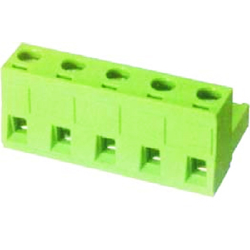 7.62mm Pluggable Terminal Blocks Female Without Flange Vertical line
