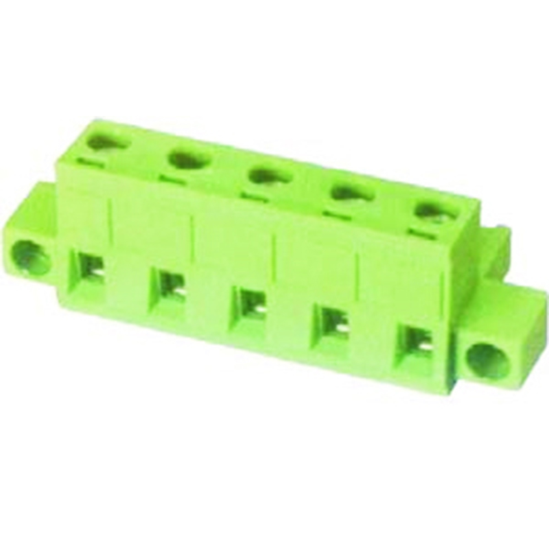 7.62mm Pluggable Terminal Blocks Female With Flange Vertical line