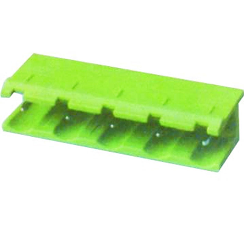 7.62mm Pluggable Terminal Blocks Male Right Angle Open Type