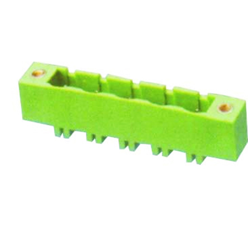7.62mm Pluggable Terminal Blocks Male Straight Type With Flange