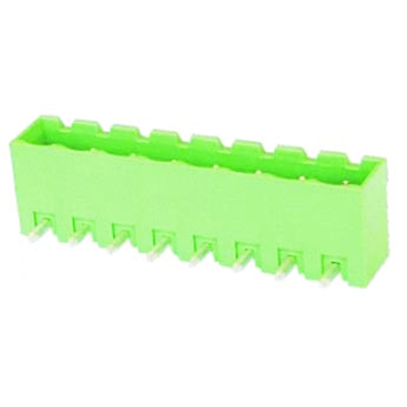 5.0mm Pluggable Terminal Blocks Right Angle Type Closed vertical
