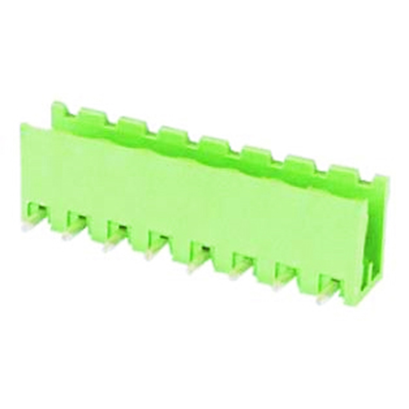 5.0mm Pluggable Terminal Blocks Right Angle Type Open vertical